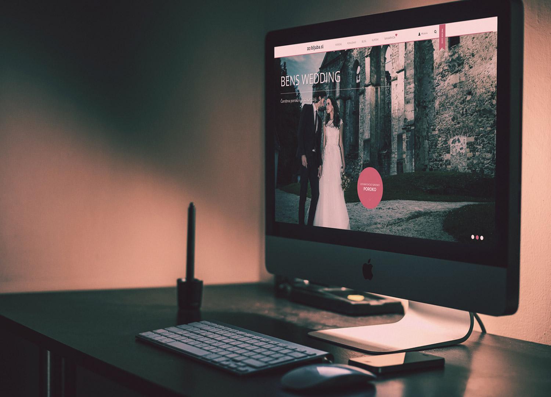 Zaobljuba.si, wedding website