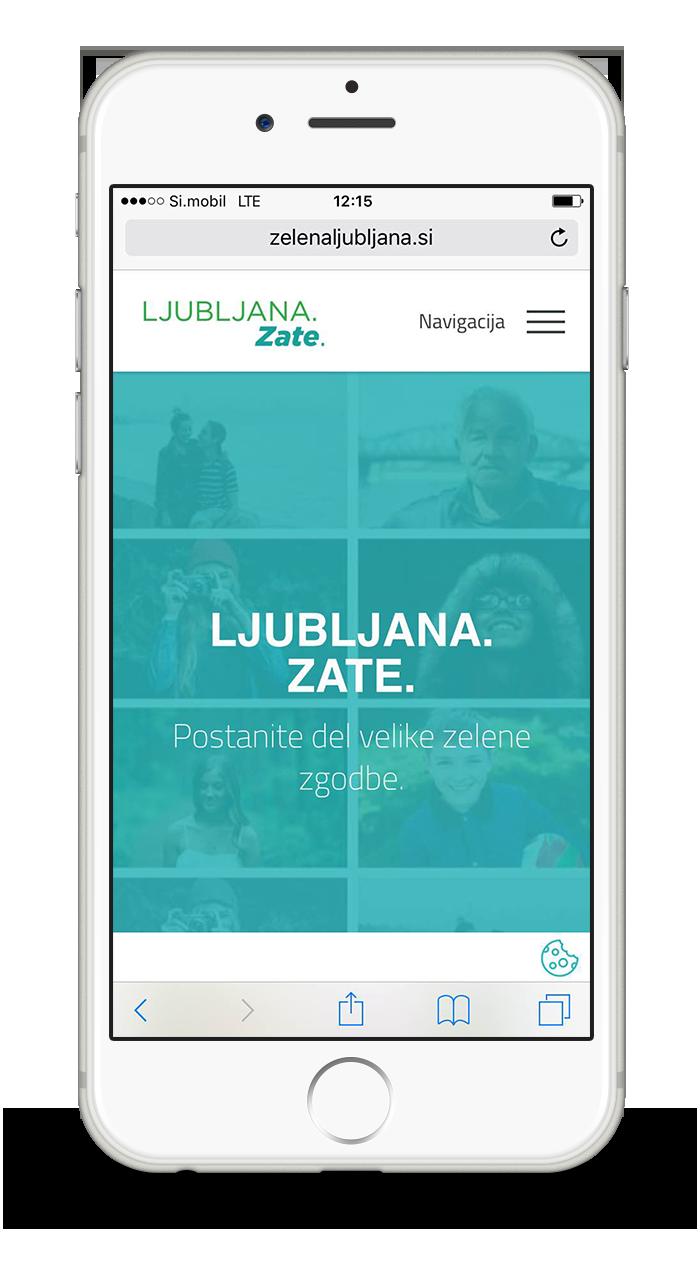 LJUBLJANA - EUROPEAN GREEN CAPITAL webpage