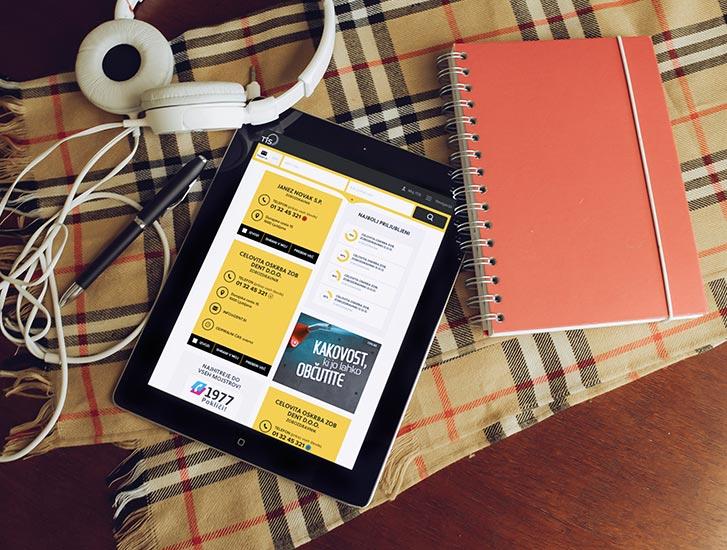 Phonebook of Slovenia - graphic design